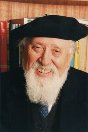 Reuven Feuerstein (Photo courtesy of the Feuerstein Institute)