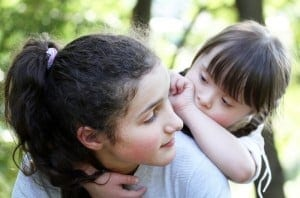 talk with your child about his disability