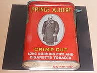 """""""Prince Albert Cigarettes"""" by Alex Israel Licensed under CC BY-SA 3.0 via Wikimedia Commons - http://commons.wikimedia.org/wiki/File:Prince_Albert_Cigarettes.JPG#/media/File:Prince_Albert_Cigarettes.JPG"""