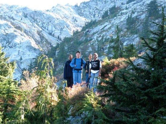 Seattle ICO, hiking