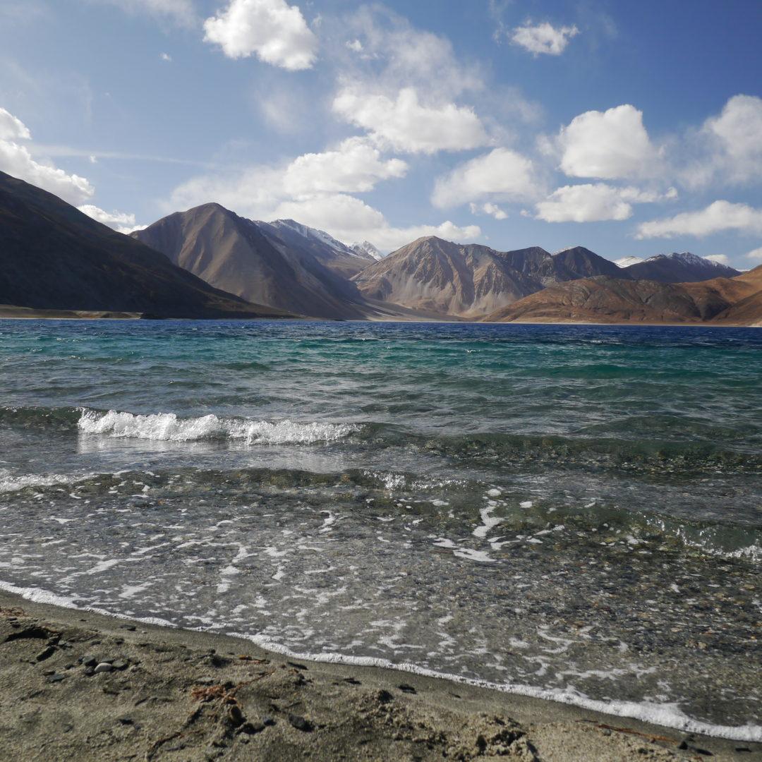Pangong Lake. There's a reason they shot a movie here. (Photo credit: Pudkrong Kaewpichit)