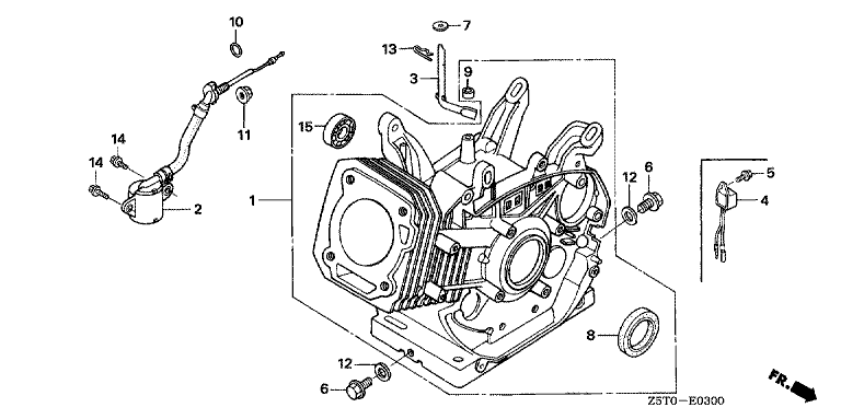 Ölablaßschraube GX340/390