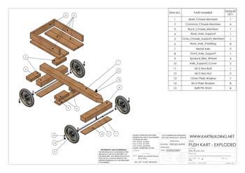 go kart plans wooden