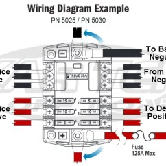 Narva Wiring Diagram Driving Lights 1998 Toyota 4runner Factory Stereo Relay Toyskids Co Blue Sea Systems 6 Circuit Ato Blade Fuse Block With Spotlight