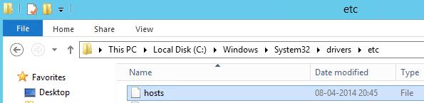 hosts-file