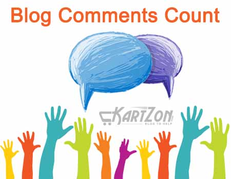 Blog comments Count