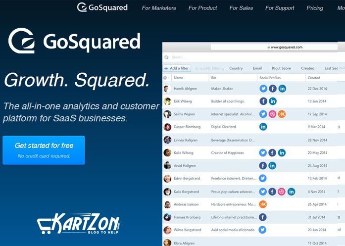 Optimizing GoSquared
