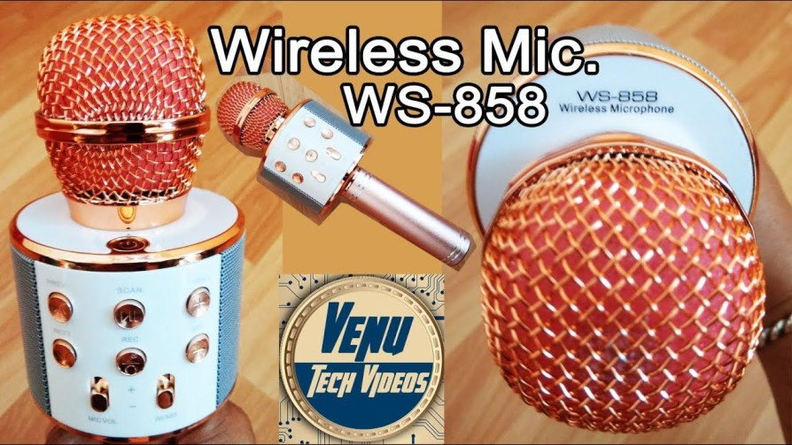 WS-858 wireless Microphone kartzon