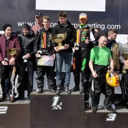 12h night race Spa - podium