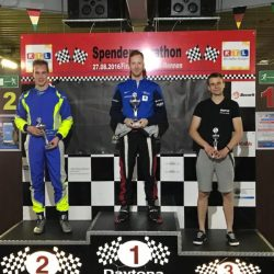 Formula Karting Race 5 Podium