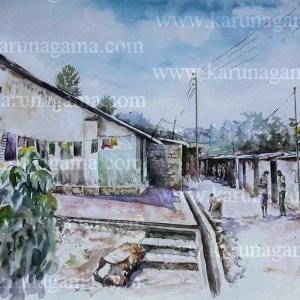 Online, Art, Art Gallery, Online Art Galley, Sri Lanka, Karunagama, Watercolor, Water Colour, Sri lanka Tea Estates, Tea estate laborers, Tea industry in Sri lanka, Sri Lanka workers, Paintings of Workers, laborer Quarters paintings, Sri lanka Landscapes, Landscape paintings, Water Colors, Paintings, Sri Lanka, Online Arts, Art Gallery, Sarath Karunagama, Online Art Gallery, Water Colors, Paintings, Sri Lanka, Online Arts, Art Gallery, Sarath Karunagama, Online Art Gallery, Portrait, Landscape, Sri lanka paintings,