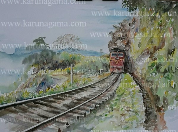 Online, Art, Art Gallery, Online Art Galley, Sri Lanka, Karunagama, Watercolor, Water Colour, Railways of Sri Lanka, Lion's mouth, Railway Paintings,Water Colors, Paintings, Sri Lanka, Online Arts, Art Gallery, Sarath Karunagama, Online Art Gallery, Water Colors, Paintings, Sri Lanka, Online Arts, Art Gallery, Sarath Karunagama, Online Art Gallery, Portrait, Landscape, Railway, Sri lanka paintings,