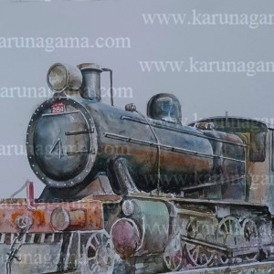 Online, Art, Art Gallery, Online Art Galley, Sri Lanka, Karunagama, Watercolor, Water Colour, Steam Locomotives, Locomotives in Sri Lanka, Steam locomotive Paintings, Railway Paintings, Trains, Online, Art, Art Gallery, Online Art Galley, Sri Lanka, Karunagama, Watercolor, Water Colour, Sarath Karunagama, Sri lanka paintings,