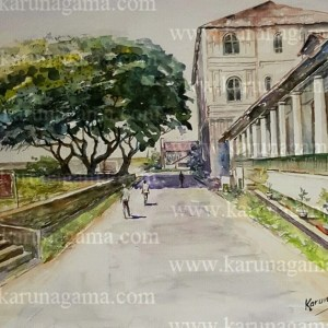 Online, Art, Art Gallery, Online Art Galley, Sri Lanka, Karunagama, Watercolor, Water Colour, Galle, Galle fort, Galle town, Sri lanka hotels, Amangalla hotel