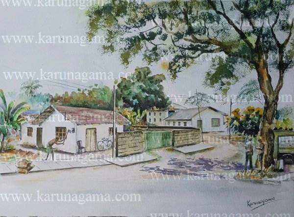Online, Art, Art Gallery, Online Art Galley, Sri Lanka, Karunagama, Watercolor, Water Colour, Weeraketiya, Southern province,