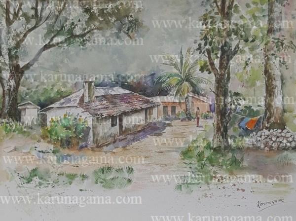 Online, Art, Art Gallery, Online Deniyaya, Deniyaya landscapes, Southern province, Matara,