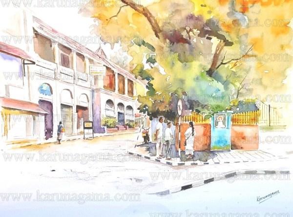 Art, Art Gallery, Hotels in Kandy, Kandy, Karunagama, Old Empire hotel, Olde Empire, Online, Online Art Galley, Sri Lanka, Water Colour, Watercolor