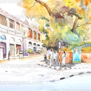 Art, Art Gallery, Hotels in Kandy, Kandy, Karunagama, Old Empire hotel, Olde Empire, Online, Online Art Galley, Sri Lanka, Water Colour, Watercolor