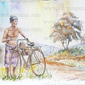Online, Art, Art Gallery, Online Art Galley, Sri Lanka, Karunagama, Watercolor, Water Colour