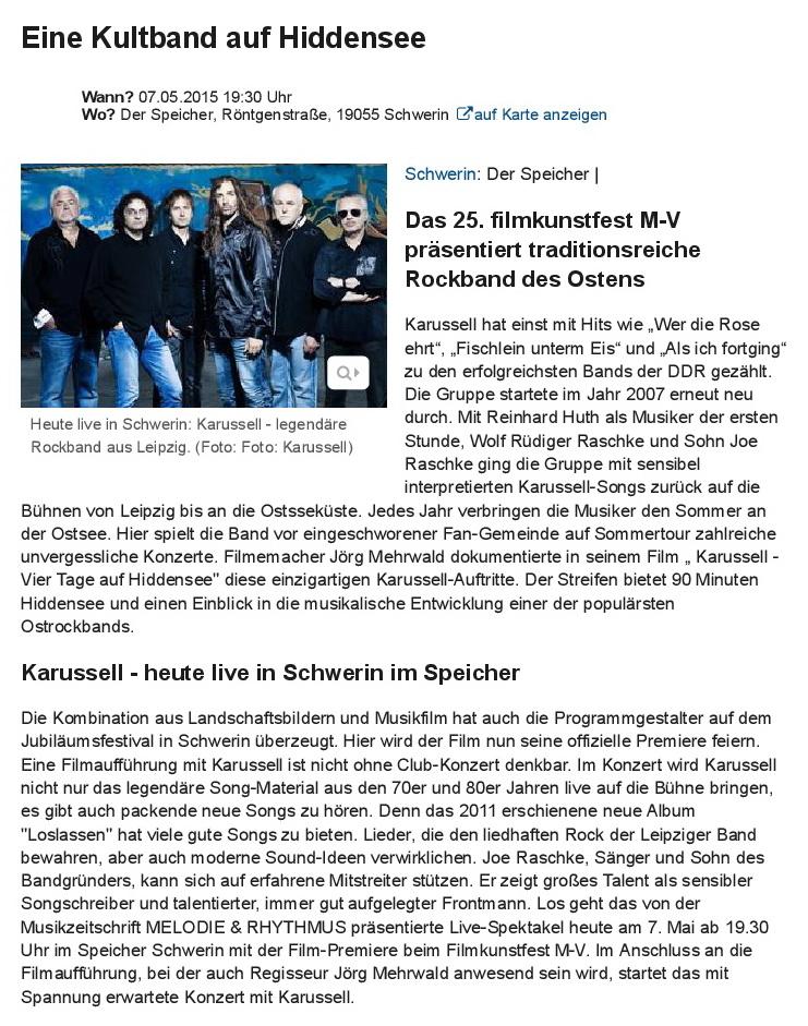 2015.05.07_Eine Kultband auf Hiddensee - Schwerin