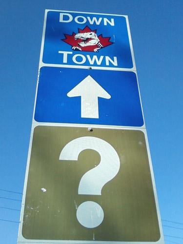 Downtown Drumheller