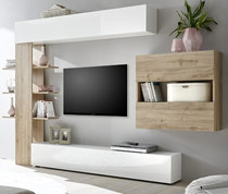 ensemble meuble tv mur tv pas cher