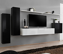 meubles suspendus meuble tv suspendu