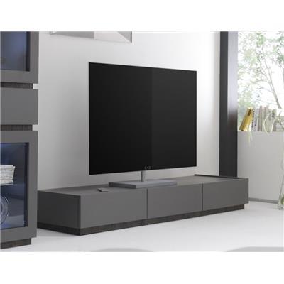 banc tv gris ou blanc 3 tiroirs stanislas 3