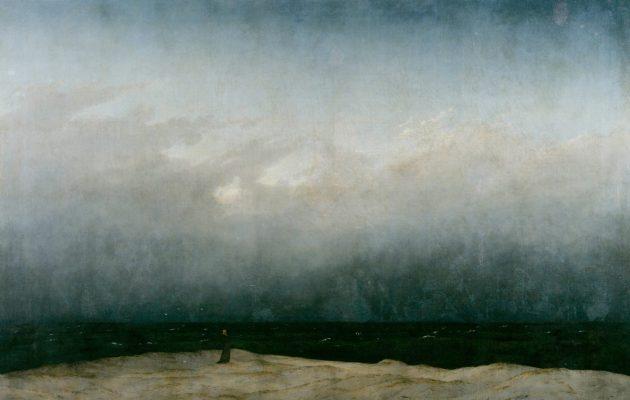 Caspar David Friedrich Der Mönch am Meer 1808-1810