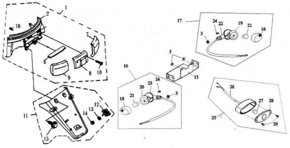 Dinli Dino 50cc Atv Wiring Diagram Suzuki 50Cc ATV