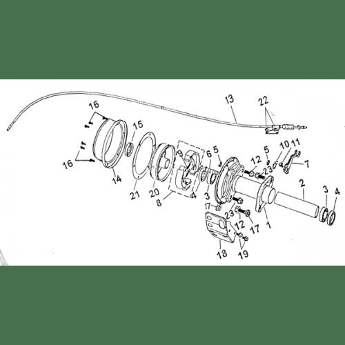 Rear Brake (Blazer 50cc ATV)