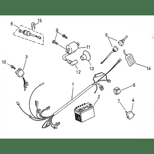 Electrical Parts (Blazer 50cc ATV)