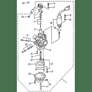 Carburetor (Adly ATV 90cc 2T)
