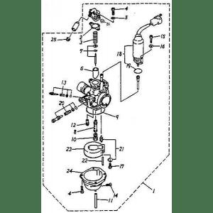 Carburetor (Adly GTA-50 2010)