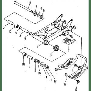 Rear Arm (Barossa ATV 170)
