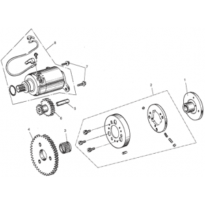 Electric Starter (Kasea Adventure Buggy 150)