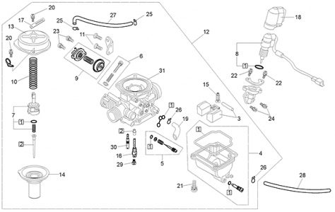 Gy6 150cc Carburetor Diagram GY6 Engine Diagram Wiring