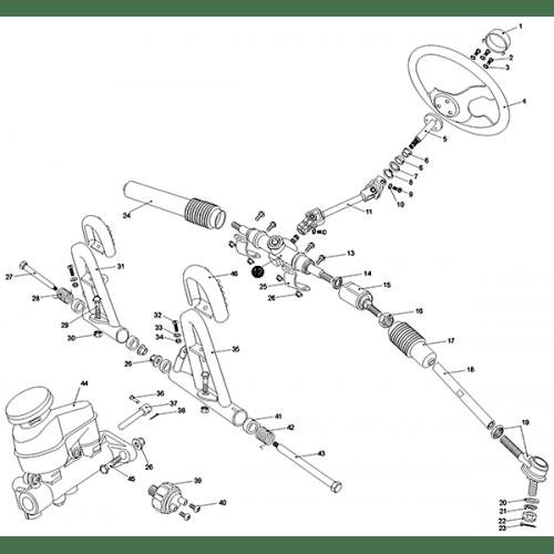 Steering Shaft (Kasea LM150IIR 2003)