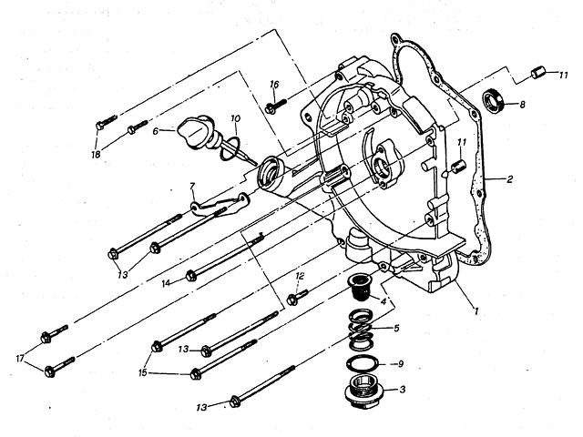 Crankcase Assembly I (Kasea Adventure Buggy 125)