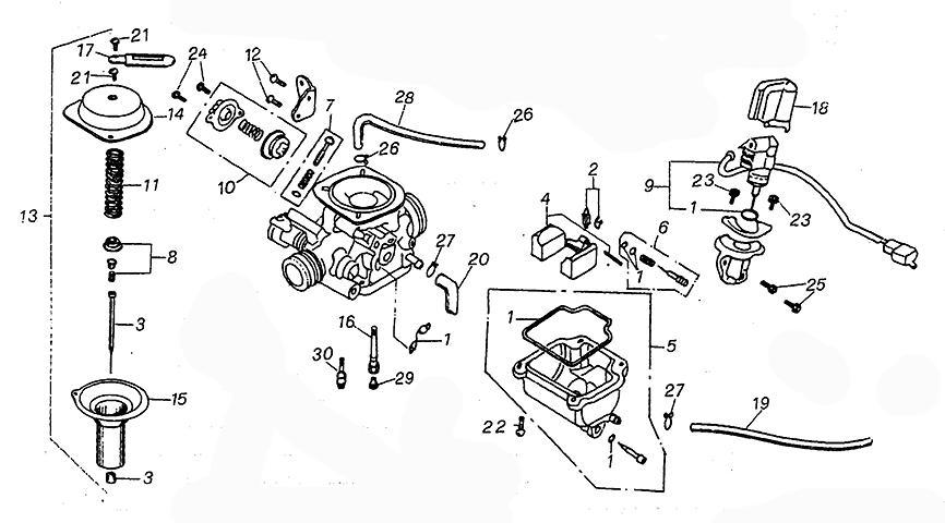 Carburetor (Kasea Adventure Buggy 125)