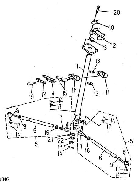 Steering (LRX/SMC Blast ATV 170)