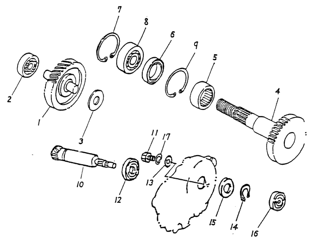 Transmission (Blazer 90cc ATV)