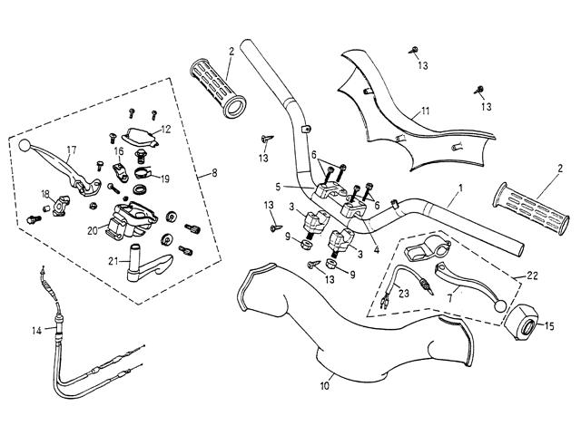 Handle Bar (Blazer 90cc ATV)