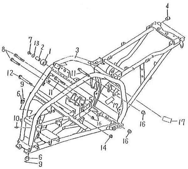 Body (Barossa Silverhawk 250)