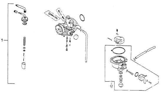 Carburetor (Bombardier Mini DS 90 4T)