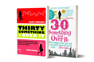 30 Something and Over It book covers