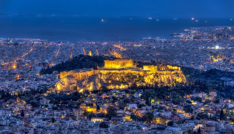 Athens Glory by Night