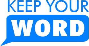 keep word