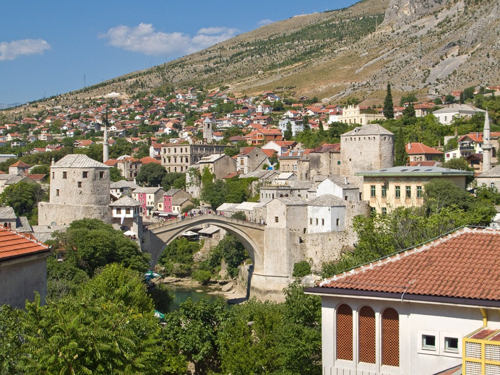 Bridge over the ages – Mostar, Bosnia and Herzegovina