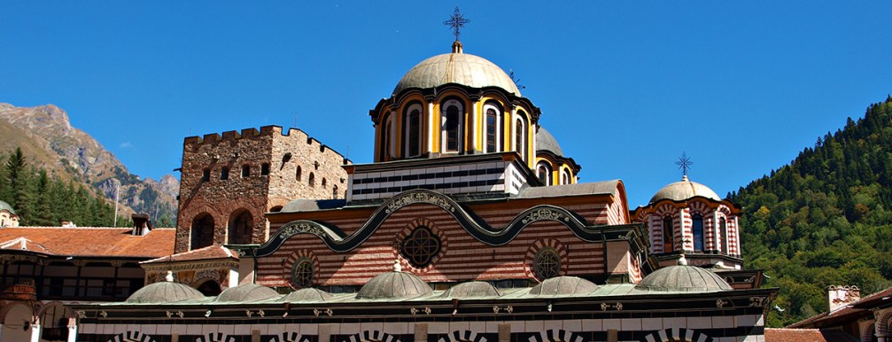 High in the mountains, the Rila Monastery is a Bulgarian culture treasure trove